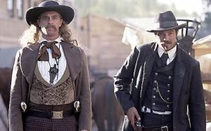 Bill Hickok and Seth Buloock