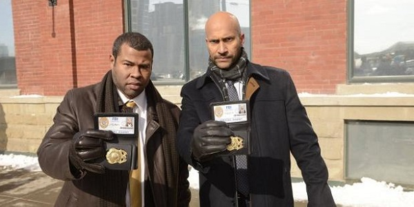 Keegan Michael-Key and Jordan Peele as FBI agents Budge and Pepper