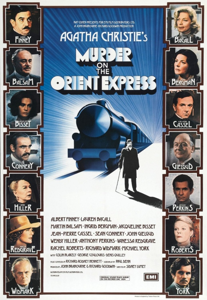 2017 Movie #6: Murder on the Orient Express (1974)