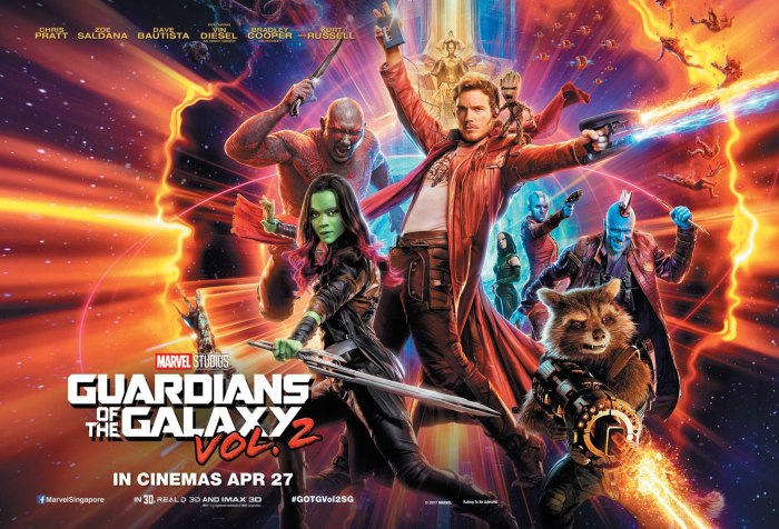 2017 Movie #37: Guardians of the Galaxy, Vol.2