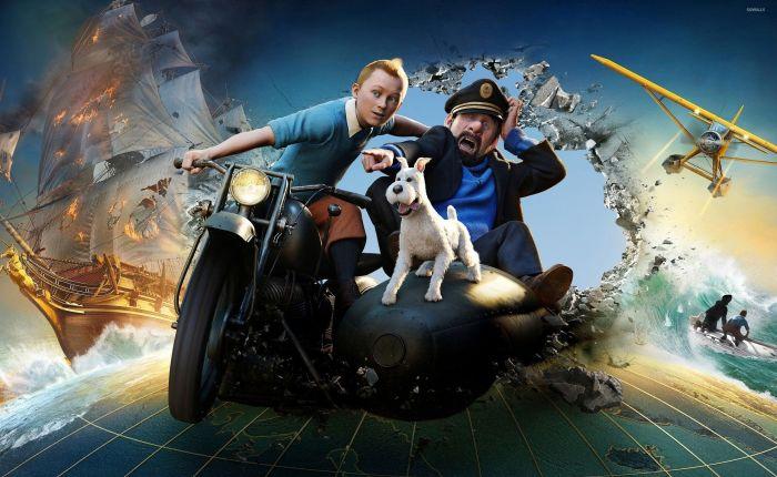 2017 Movie #39: The Adventures of Tintin(2011)